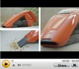 watch vax-h90-gab handheld video